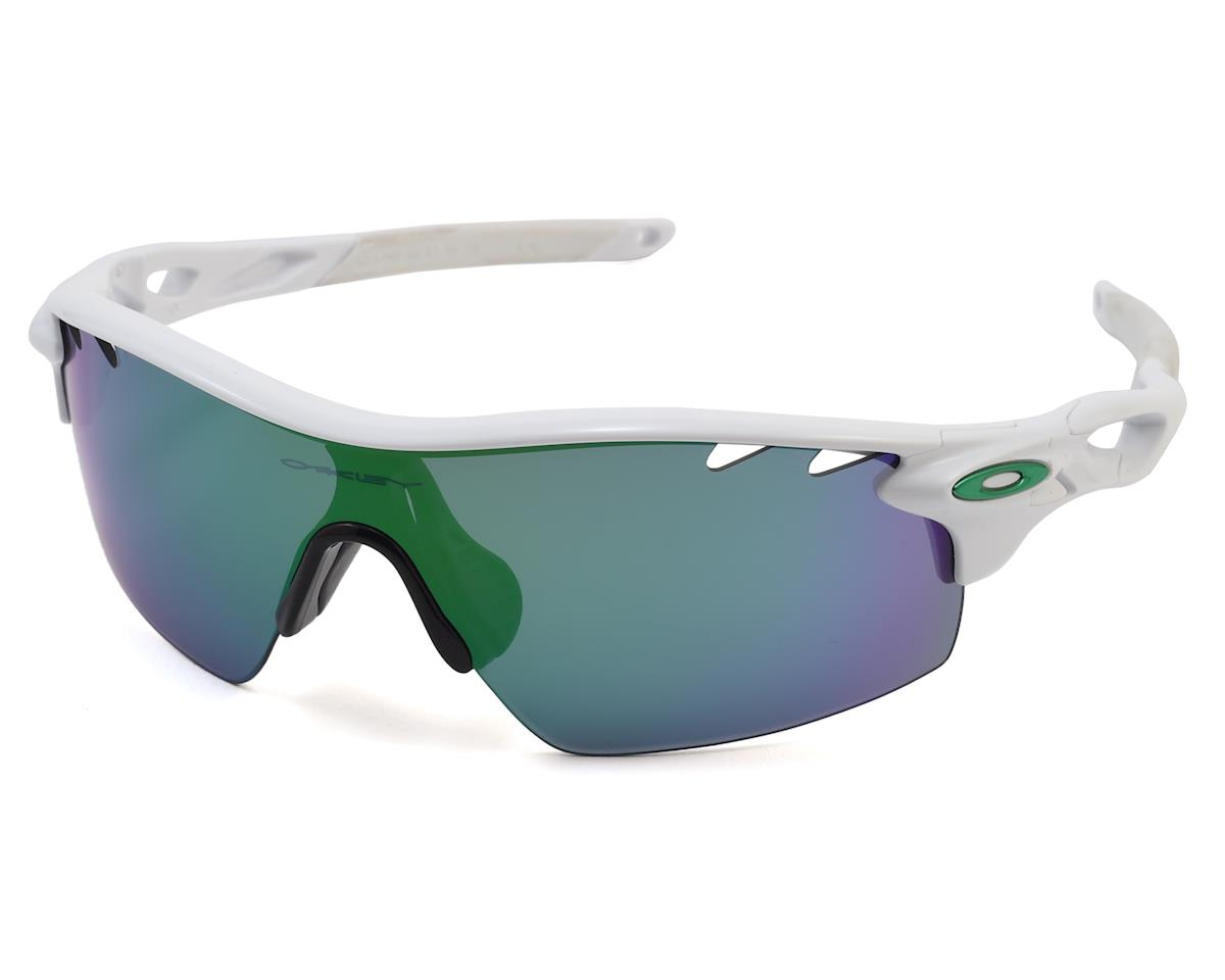 Radarlock Path Sunglasses (Polished White) (Jade Iridium Lenses Vr28)