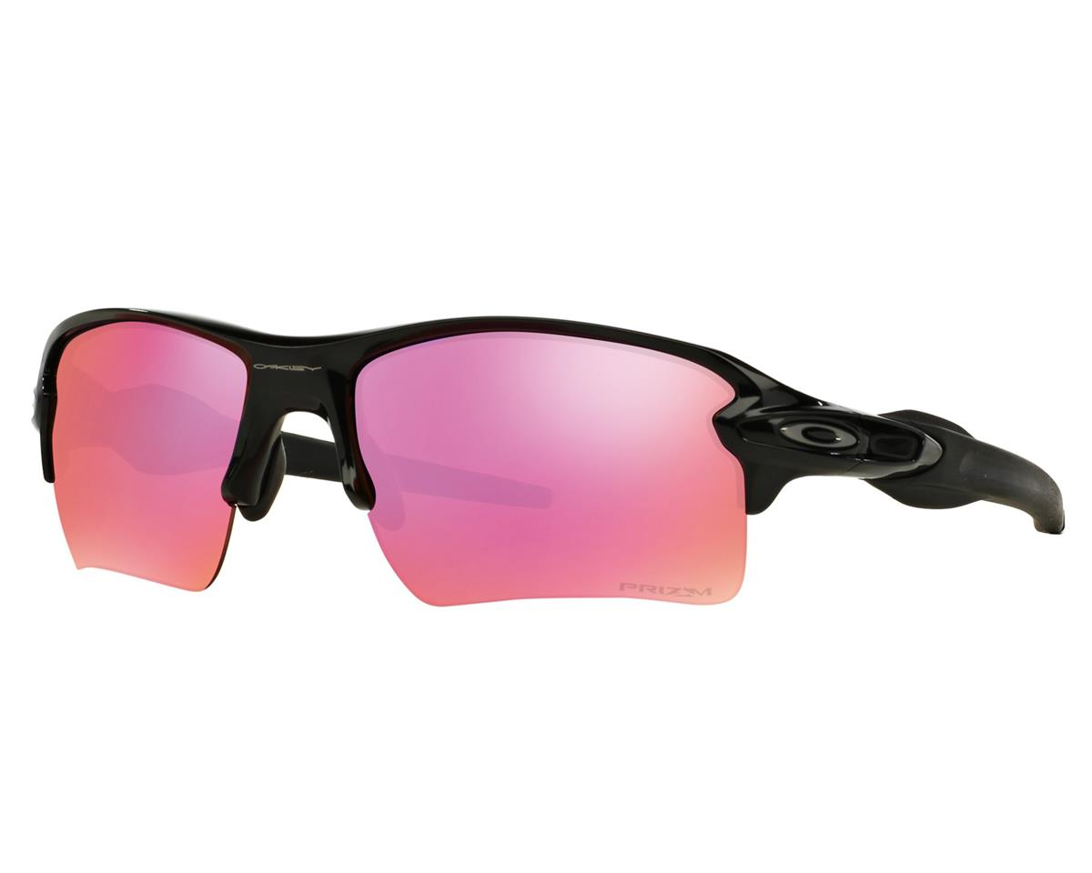 Oakley Flak 2.0 XL Sunglasses (Polished Black) (Prizm Trail Lenses)