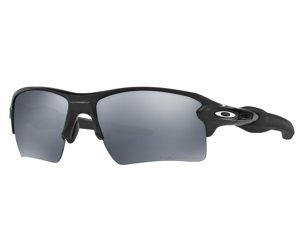 Oakley Flak 2.0 XL Sunglasses (Matte Black) (Black Iridium Polarized Lenses)