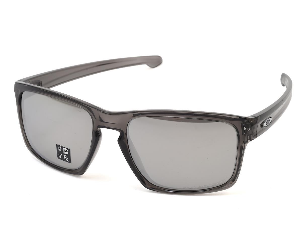 5227b62f69a Oakley Sliver Sunglasses (Grey Smoke w Chrome Iridium Polarized Lens)   OO9262-13