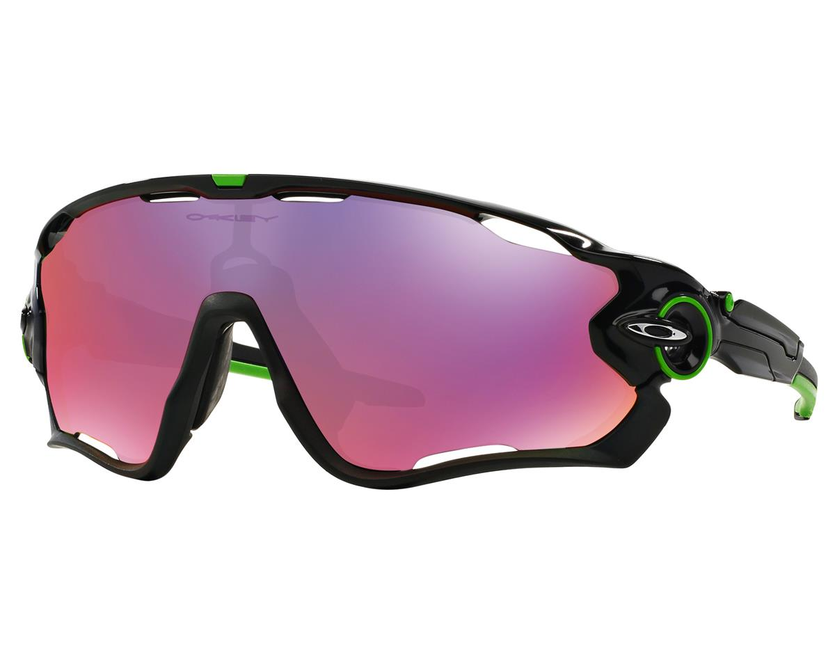 Jawbreaker Cavendish Sunglasses (Polished Black) (Prizm Road Lenses)