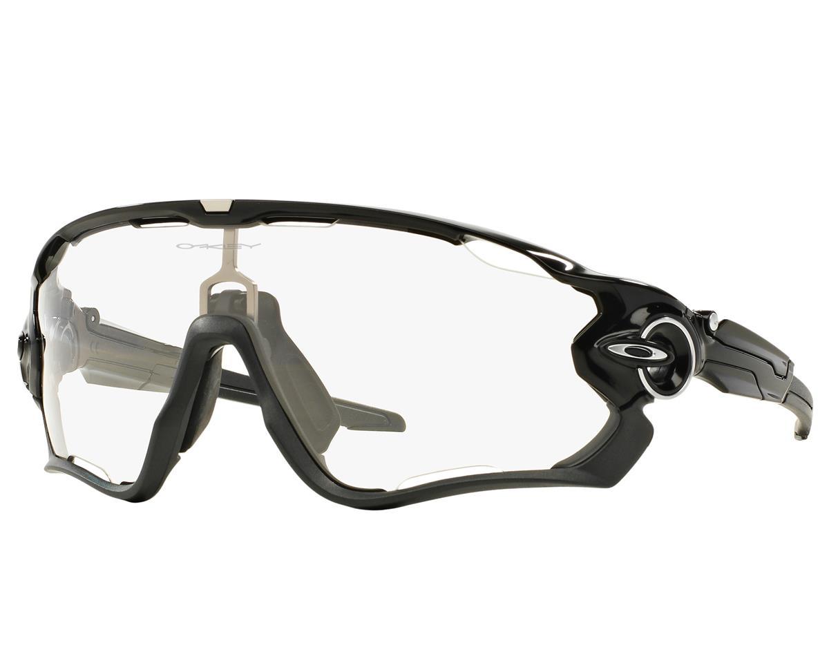 Oakley Jawbreaker Sunglasses (Polished Black) (Clear to Black Photochromic)