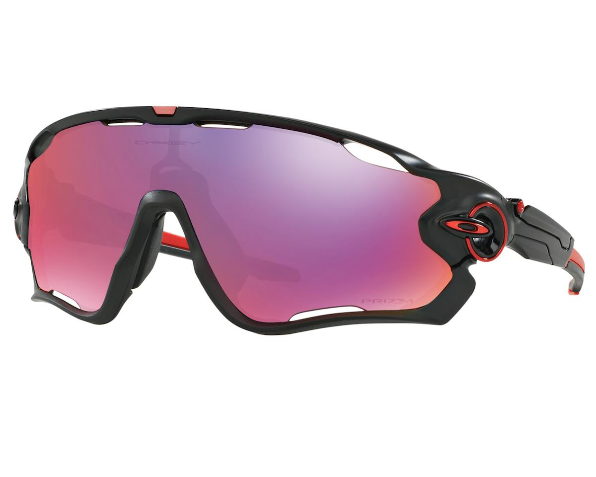 Oakley Jawbreaker Sunglasses (Matte Black) (Prizm Road Lenses)