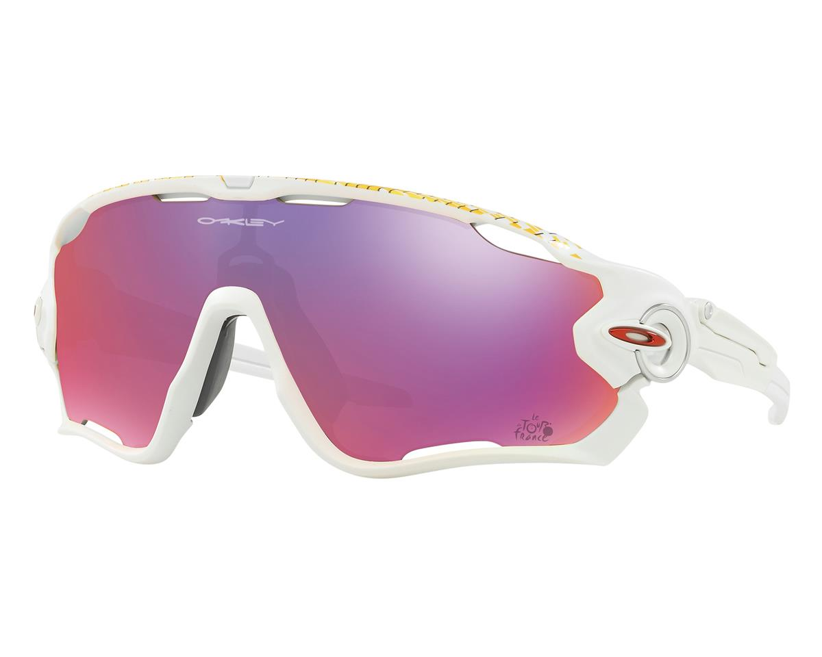 Oakley Jawbreaker Tour de France Edition (Matte White) (Prizm Road Lenses)
