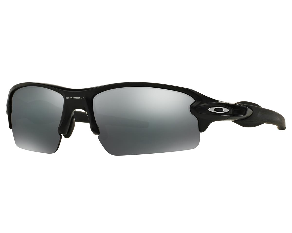 Oakley Flak 2.0 Sunglasses (Matte Black) (Black Iridium Lenses)