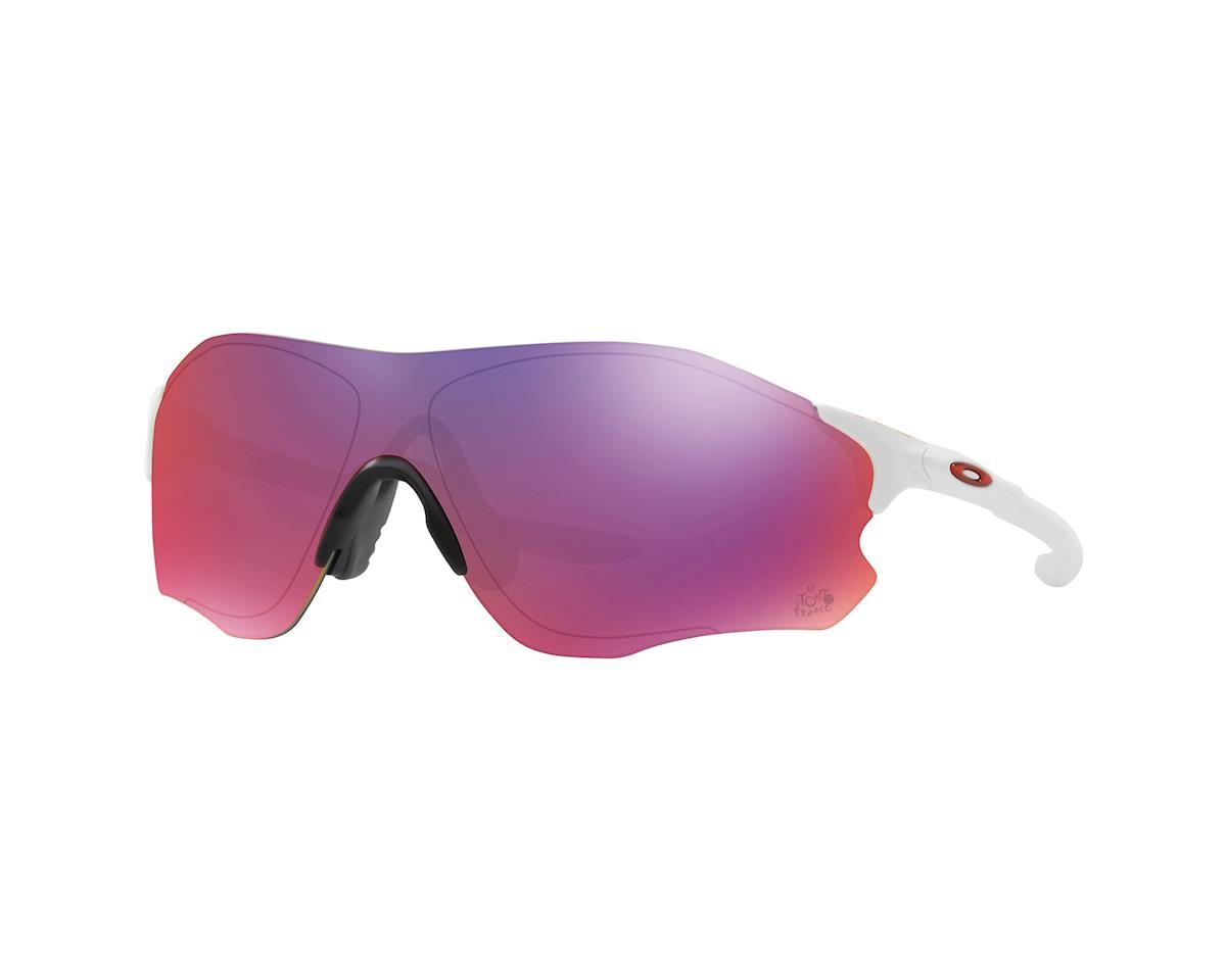 Oakley EVZero Tour de France Road Sunglasses (Matte White)