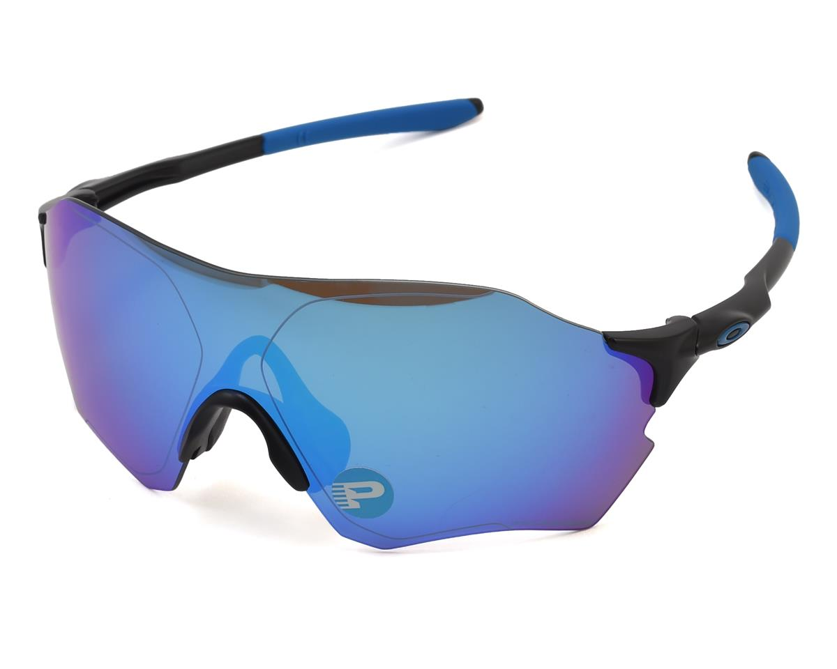 Oakley EVZero Range Sunglasses (Matte Black) (Sapphire Iridium Polarized)