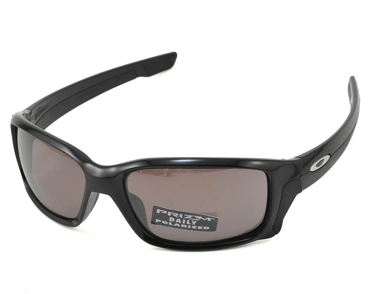Oakley Straightlink Sunglasses (Polished Black) (PRIZM Daily Polarized Lens)