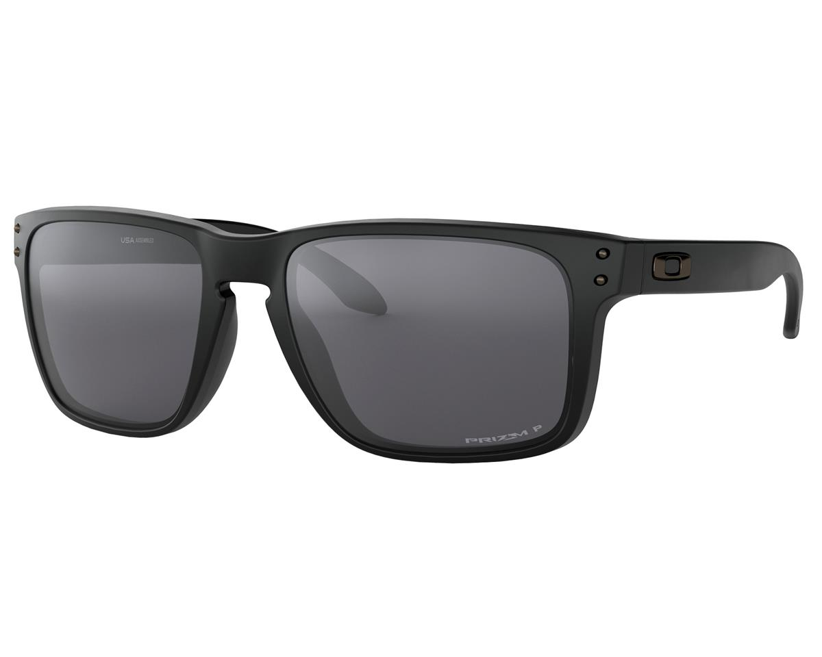 Oakley Holbrook XL Sunglasses (Matte Black w/Prizm Black Polarized)