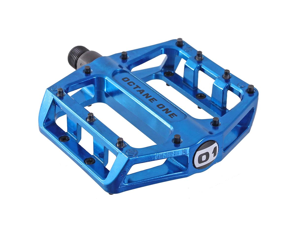 Octane One Static Platform Pedals (Blue)