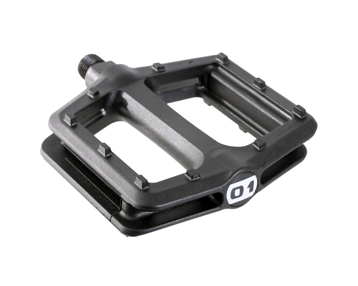 Octane One Nylon Platform Pedals (Black)