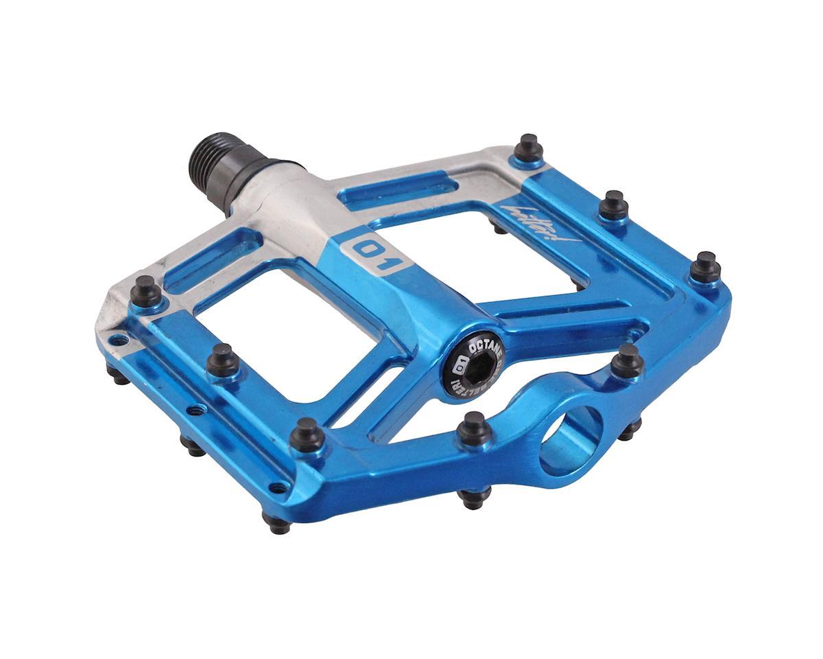 Octane One Belter Platform Pedals (Blue)