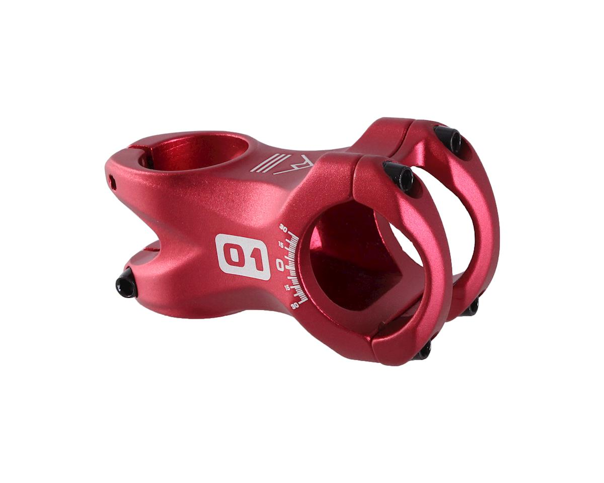 Octane One Tone Stem (Red) (35mm Clamp) (60mm Length)