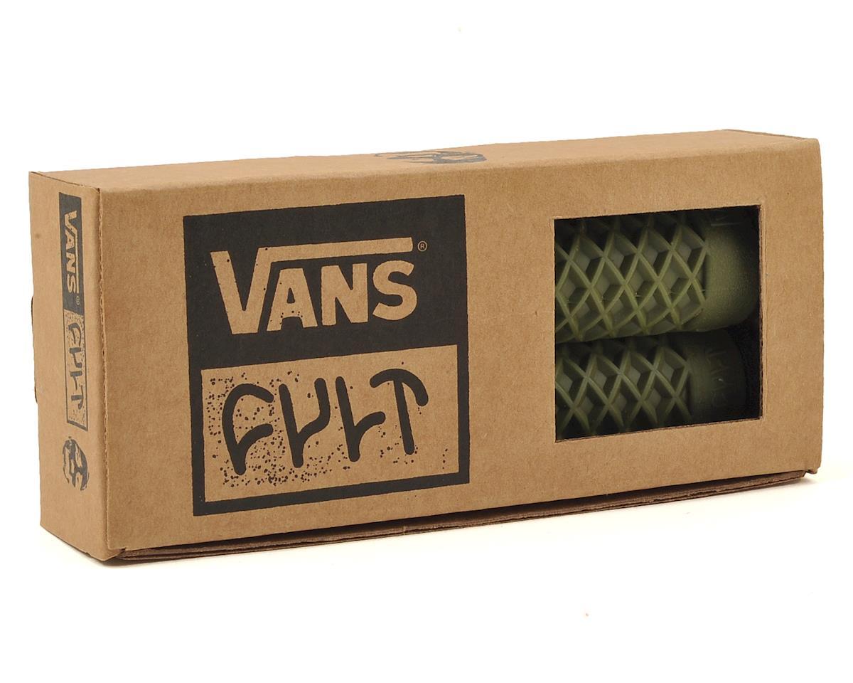 ODI Cult X Vans Flangeless Grips (150mm) (Army Green)