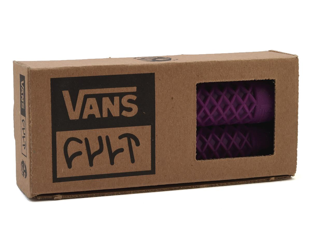 Image 2 for Cult X Vans Flangeless Grips (Purple) (150mm)