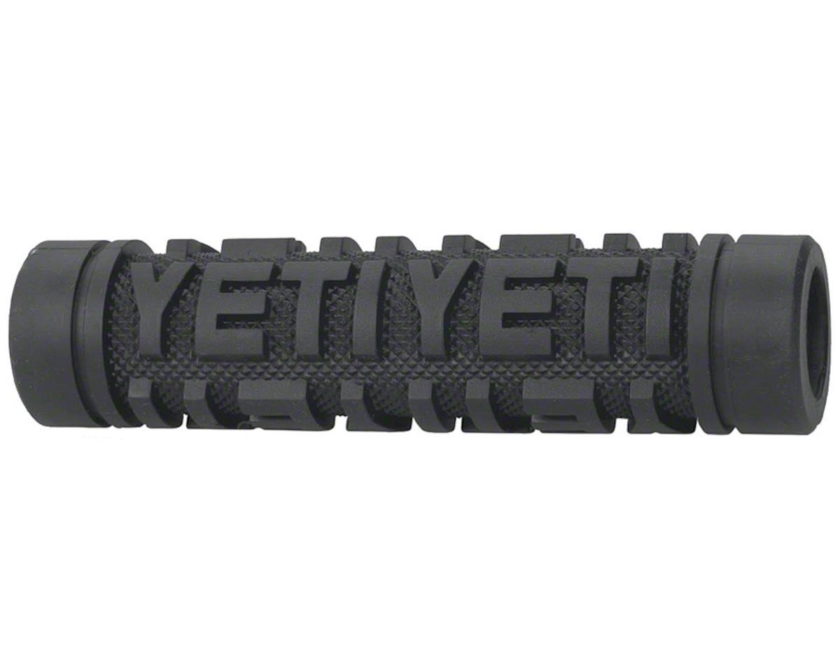 ODI Yeti Speed Grip Open w/ Plug (Black) (120mm)