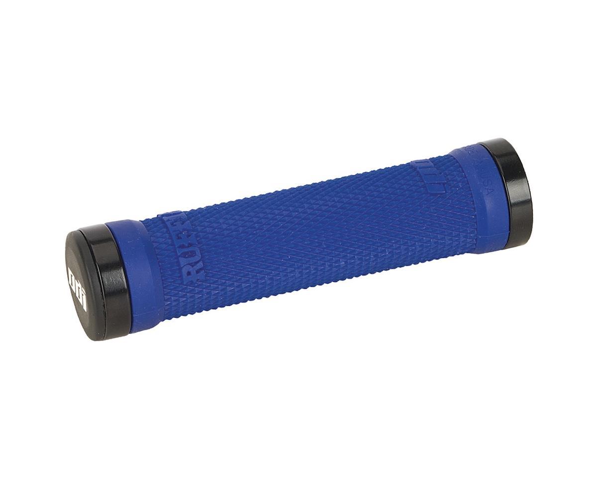 ODI Ruffian MTB Lock On Grips (Bright Blue) (130mm)