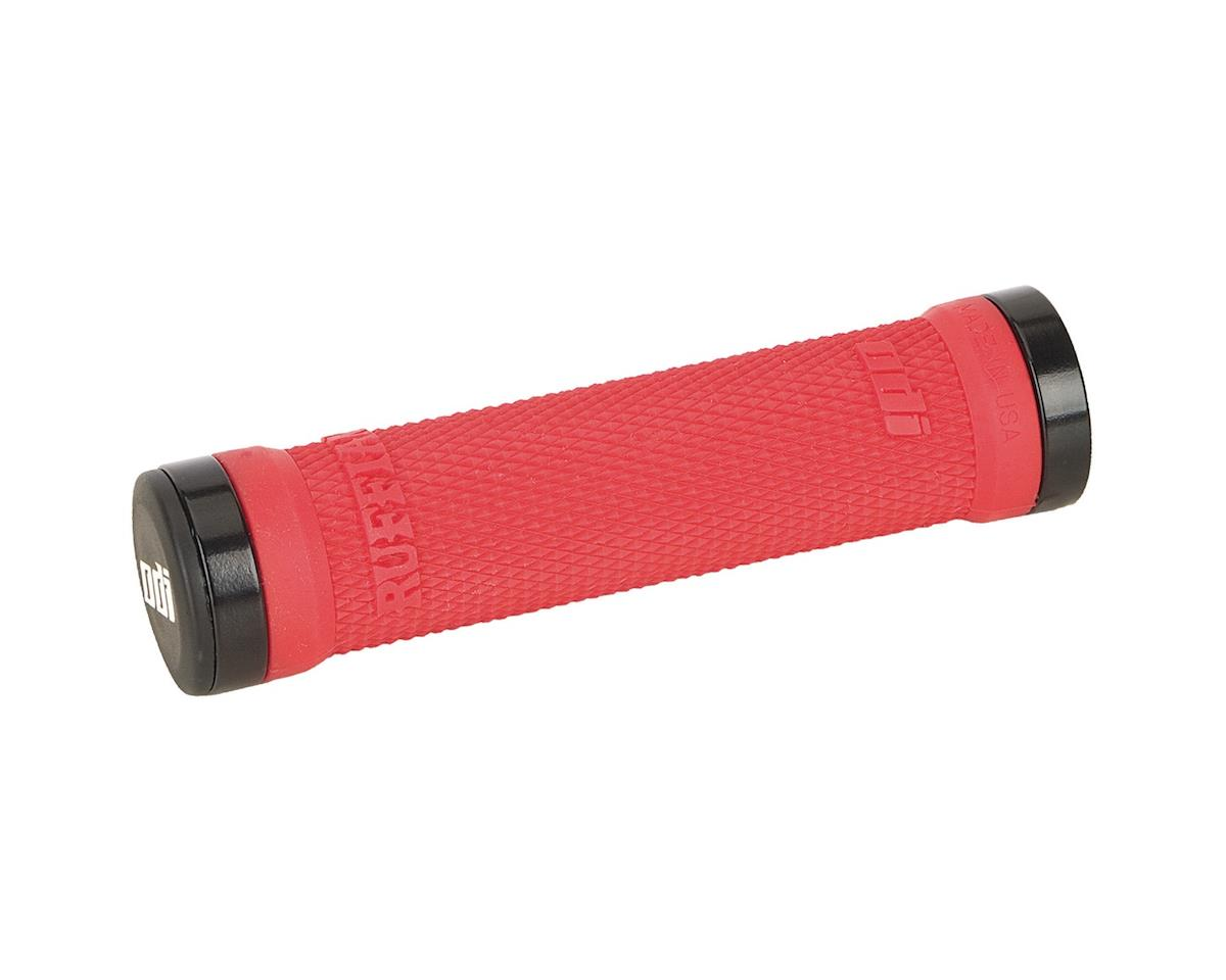 ODI Ruffian MTB Lock On Grips (Bright Red) (130mm)