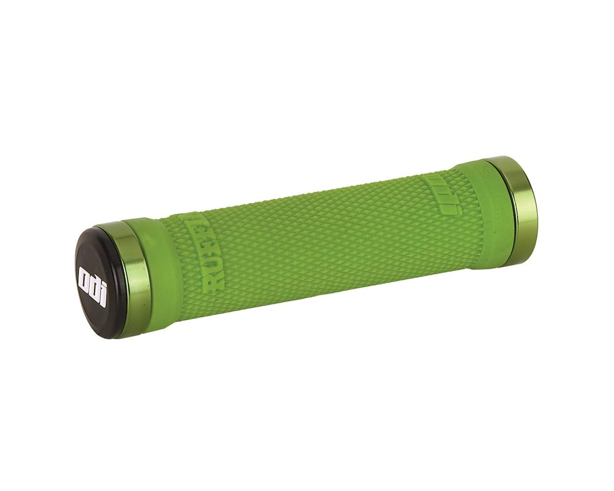 ODI Ruffian Lock On Grips (Lime Green) (130mm)
