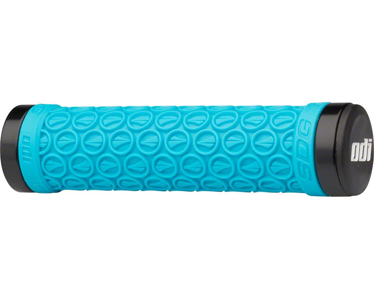 ODI SDG Lock-On Grips (Aqua) (130mm)
