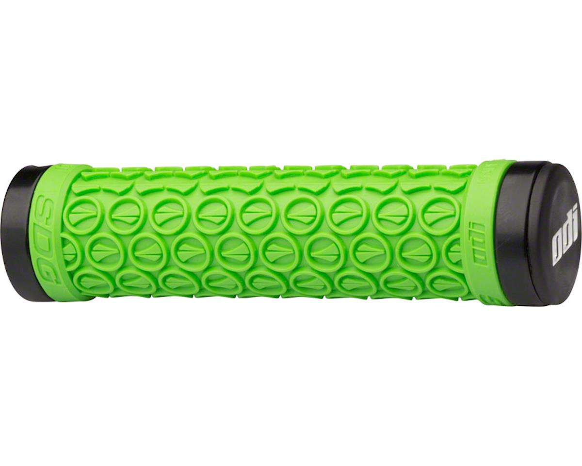ODI SDG Lock-On Grips (Green) (130mm)