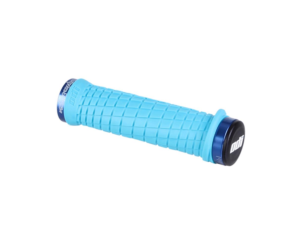 ODI Grips Odi Lockon Bonus Mtn Troy Lee Aq/Bu W/Clamp
