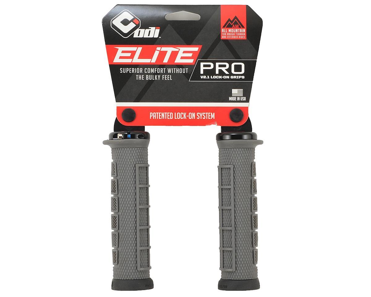 ODI Elite Pro V2.1 Lock-On Grips (130mm) (Graphite/Black)
