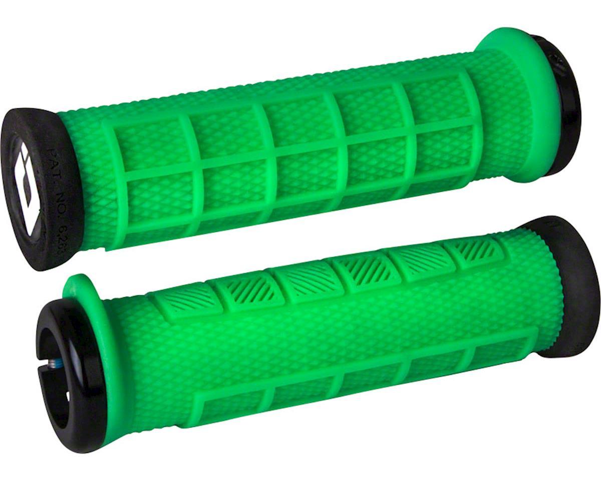 ODI Elite Pro Lock-On Grips (Retro Green w/ Black Clamps)