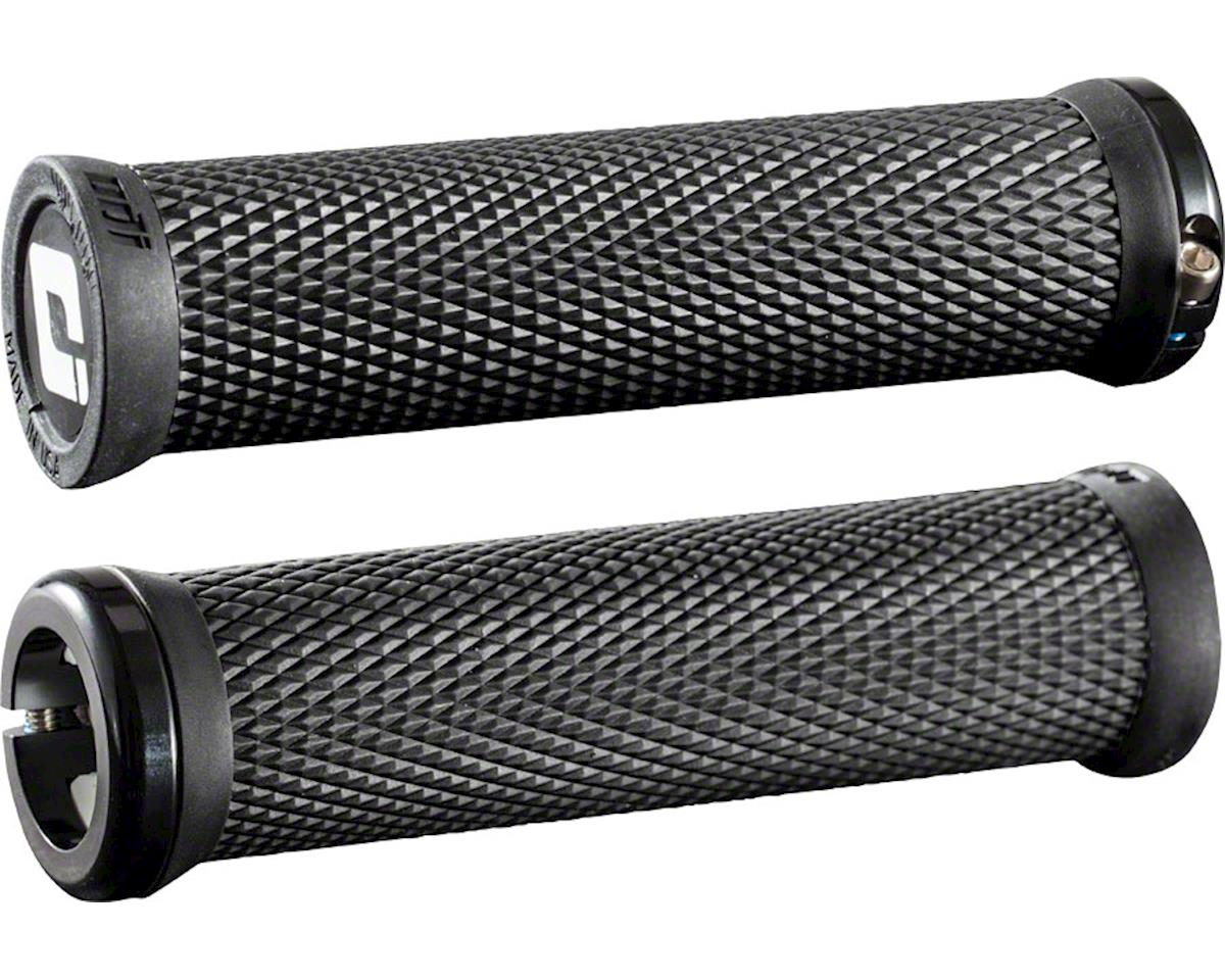 ODI Elite Motion Lock On Grips (Black w/ Black Clamps)