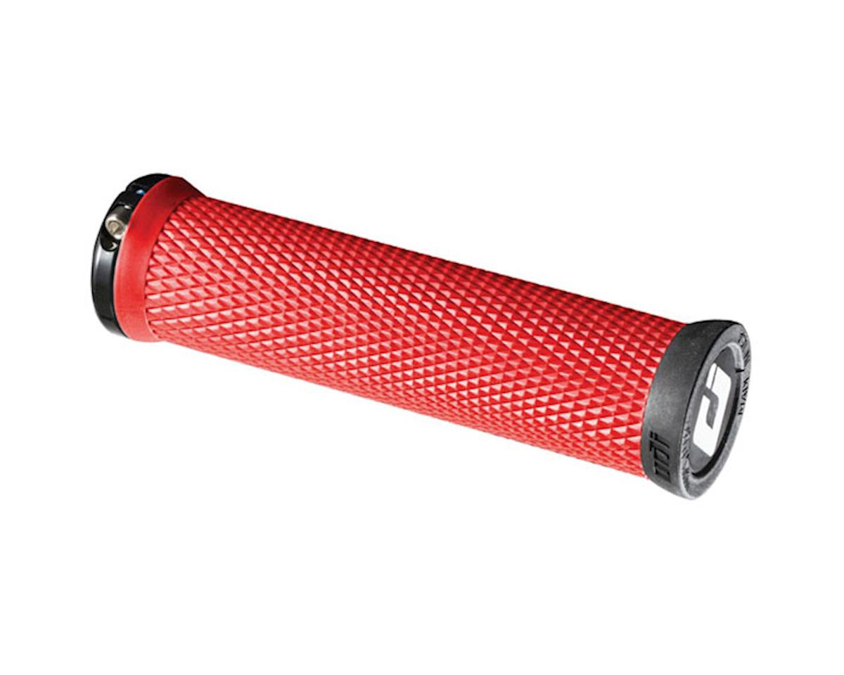 ODI Elite Motion Lock On Grips (Burnt Red w/ Black Clamps)