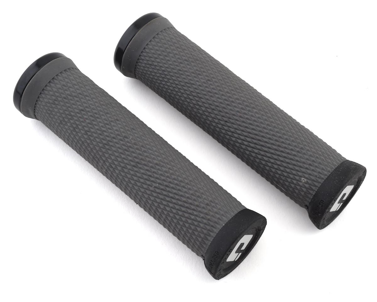 ODI Elite Motion Lock On Grips (Graphite w/ Black Clamps)