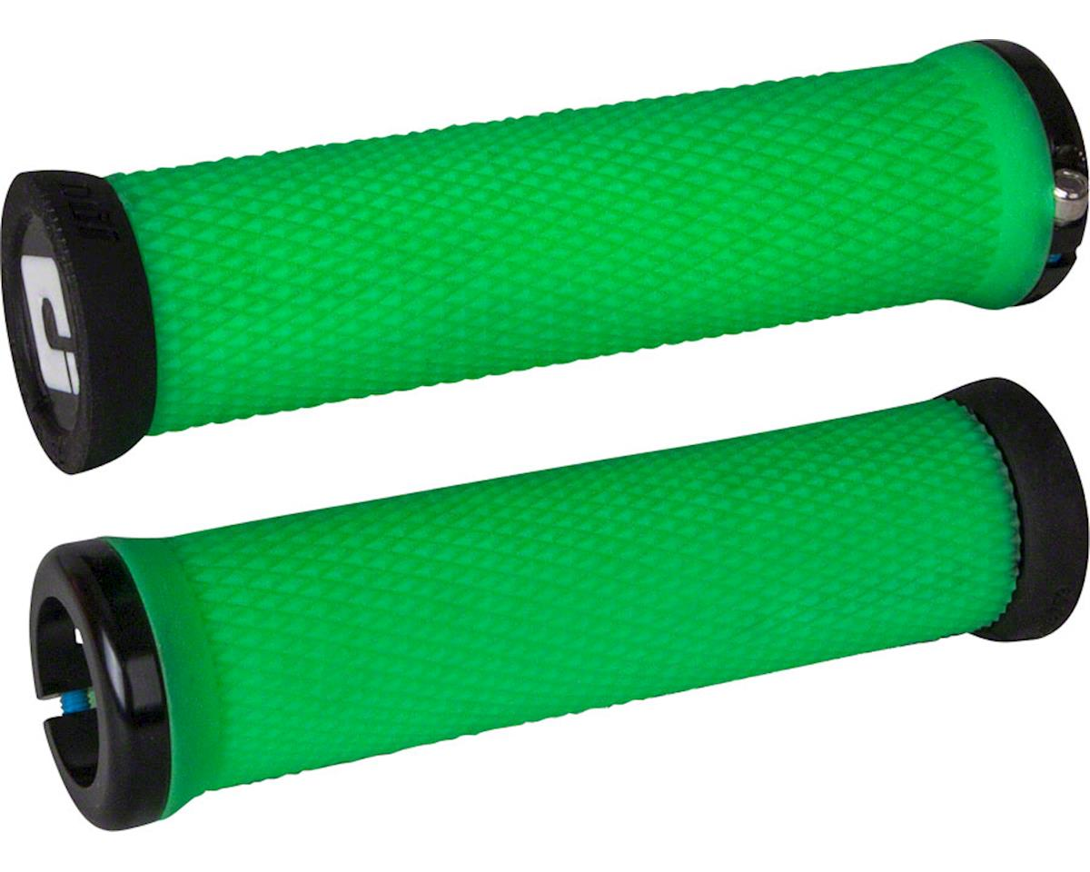 ODI Elite Motion Lock-On Grips (Retro Green w/ Black Clamps)