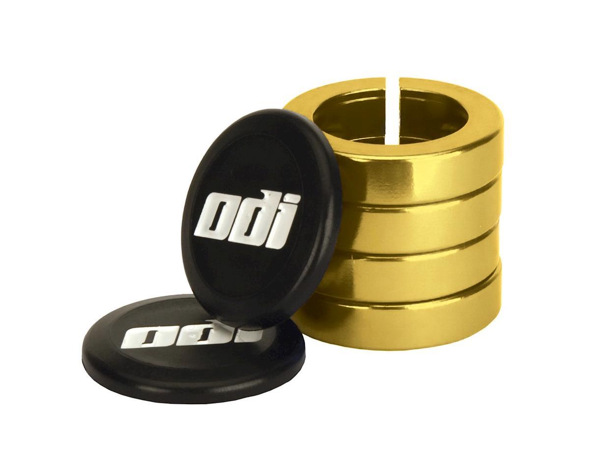 ODI Lock Jaw Lock-On Clamps (Gold) (Set of 4)