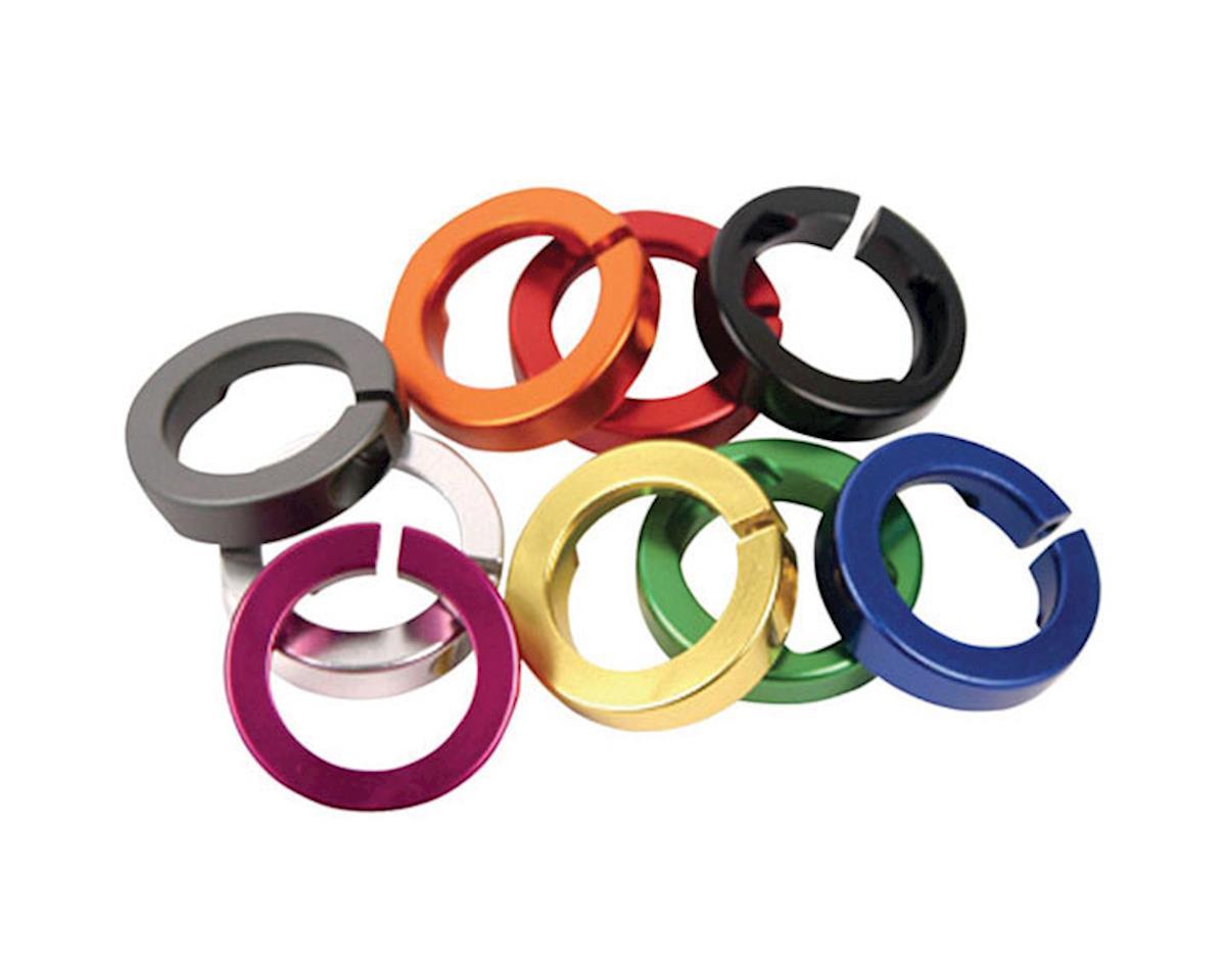 ODI Lock Jaw Lock-On Clamps (Orange) (Set of 4)