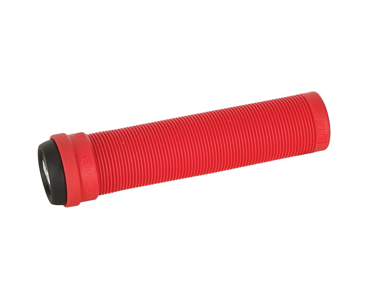 ODI Longneck Soft Compound Flangeless Grips (Red) (135mm)