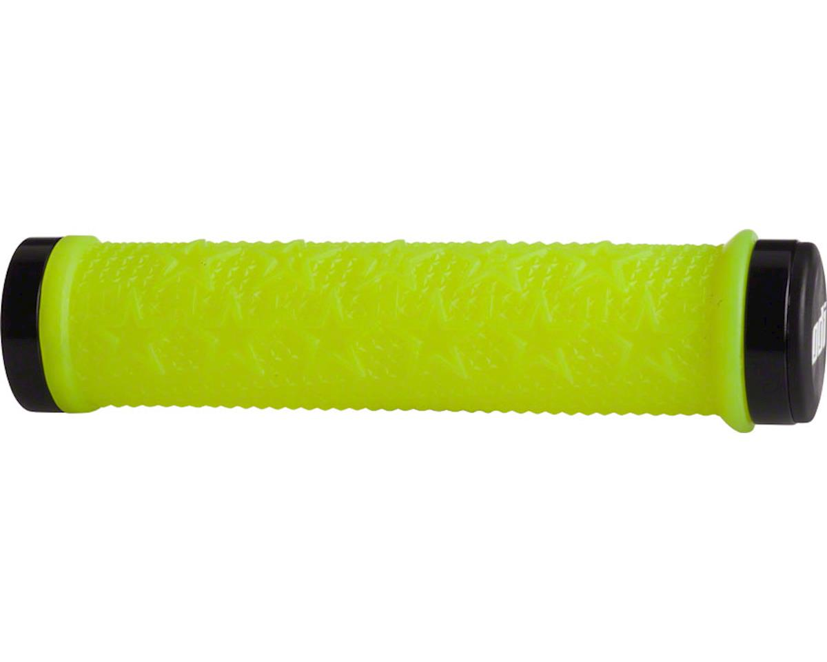 ODI The Machine Lock-On Grips (Yellow w/Black Clamps) (143mm)