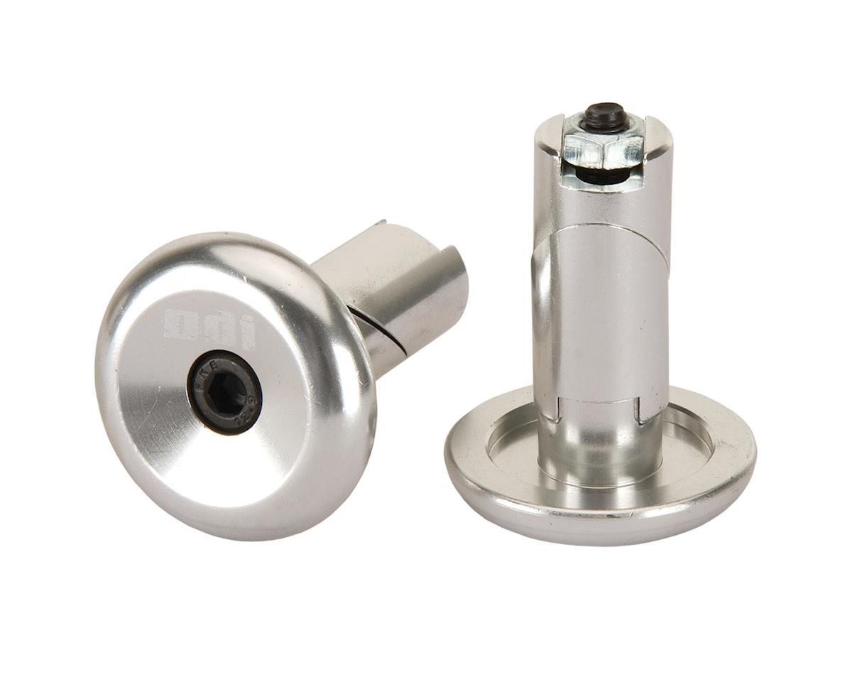 ODI Aluminum Handlebar Plugs Silver