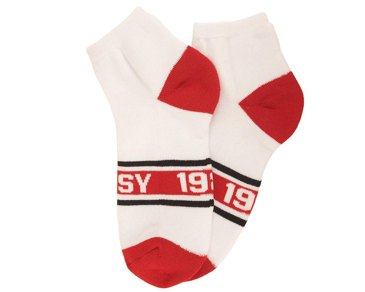 Odyssey 1985 No Show Socks (White) (One Size Fits Most)