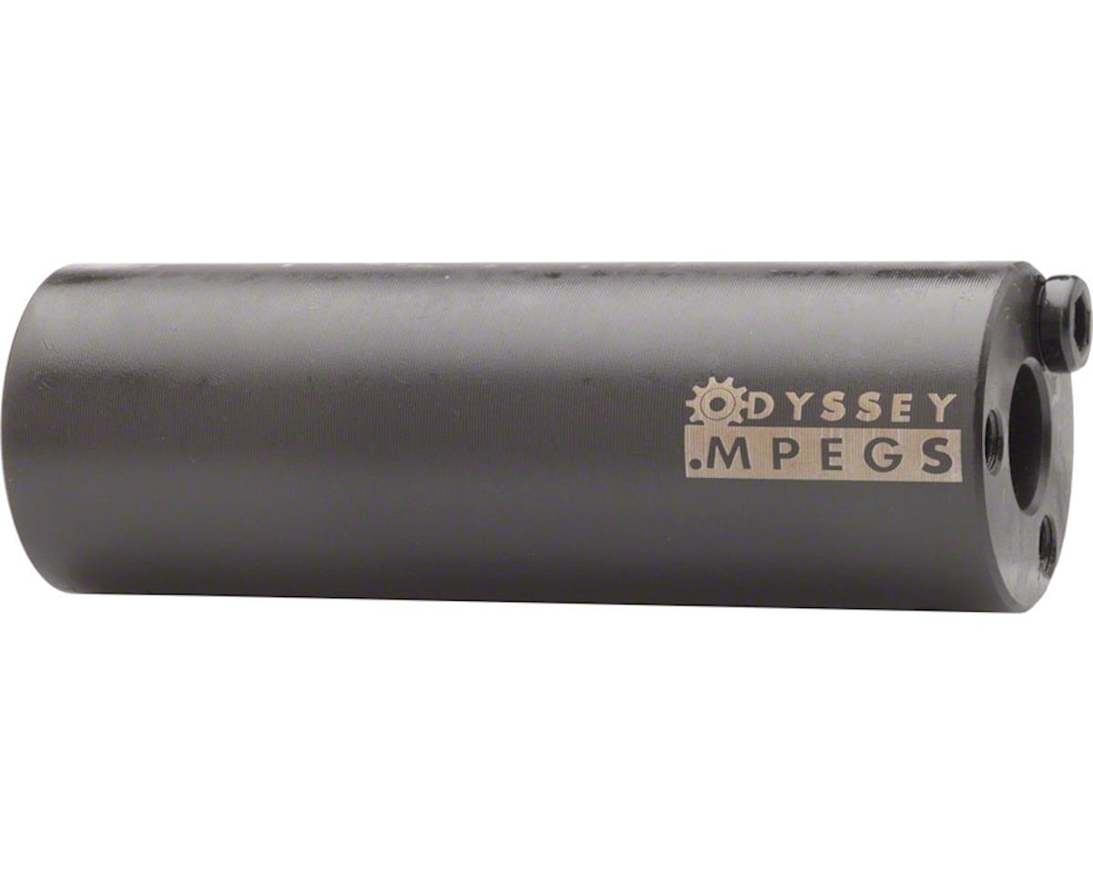 "Odyssey MPEG 14mm Pegs w/ 3/8"" Adaptor (Black) (Pair)"
