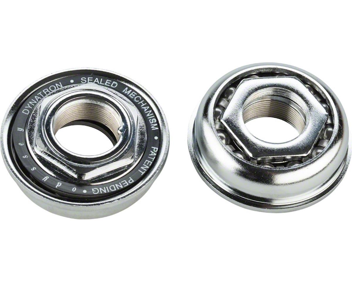 Odyssey Dynatron Bottom Bracket for 1 Piece Cranks 24TPI Silver
