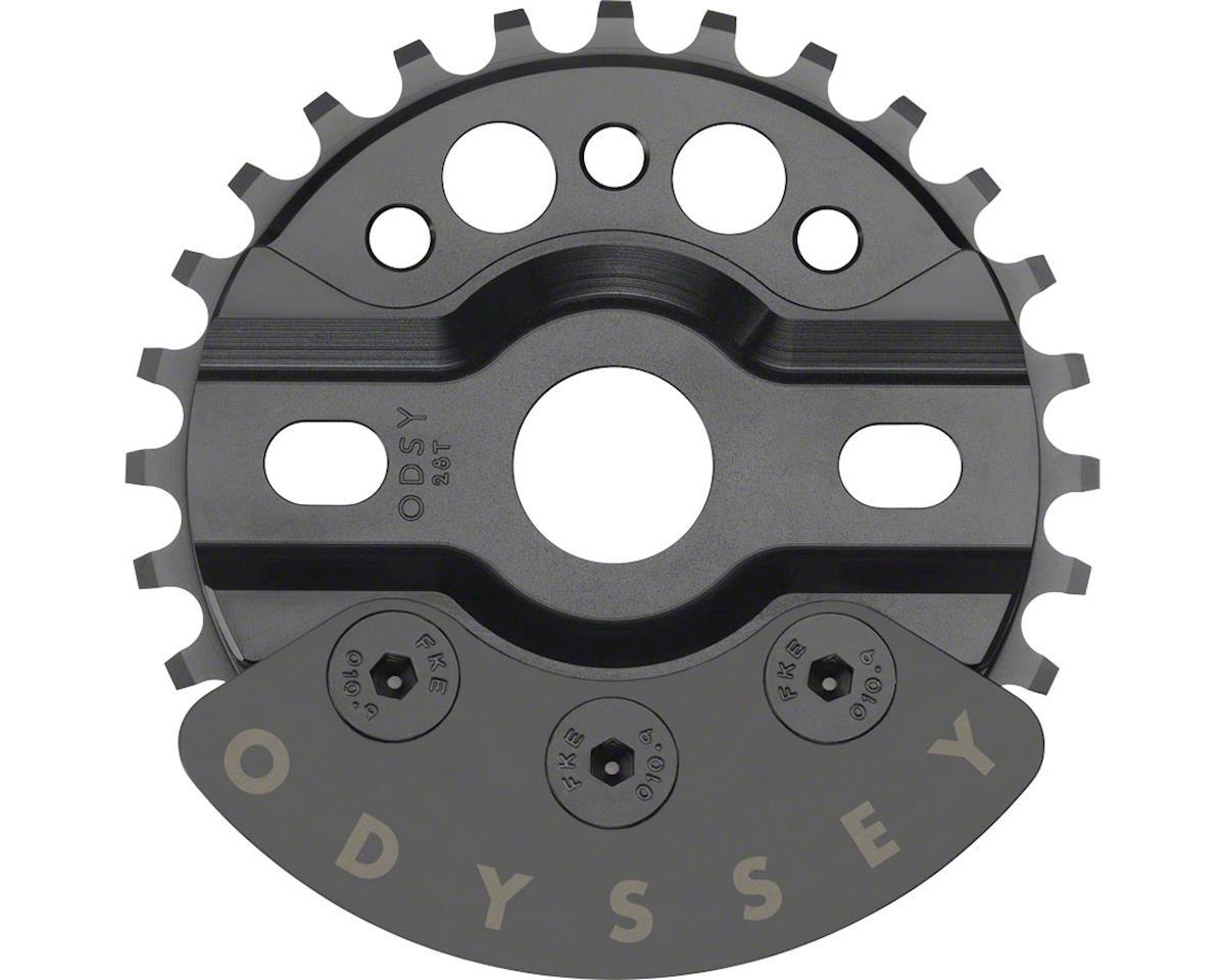 Odyssey Halfbash Sprocket (Black) (25T) (28T)
