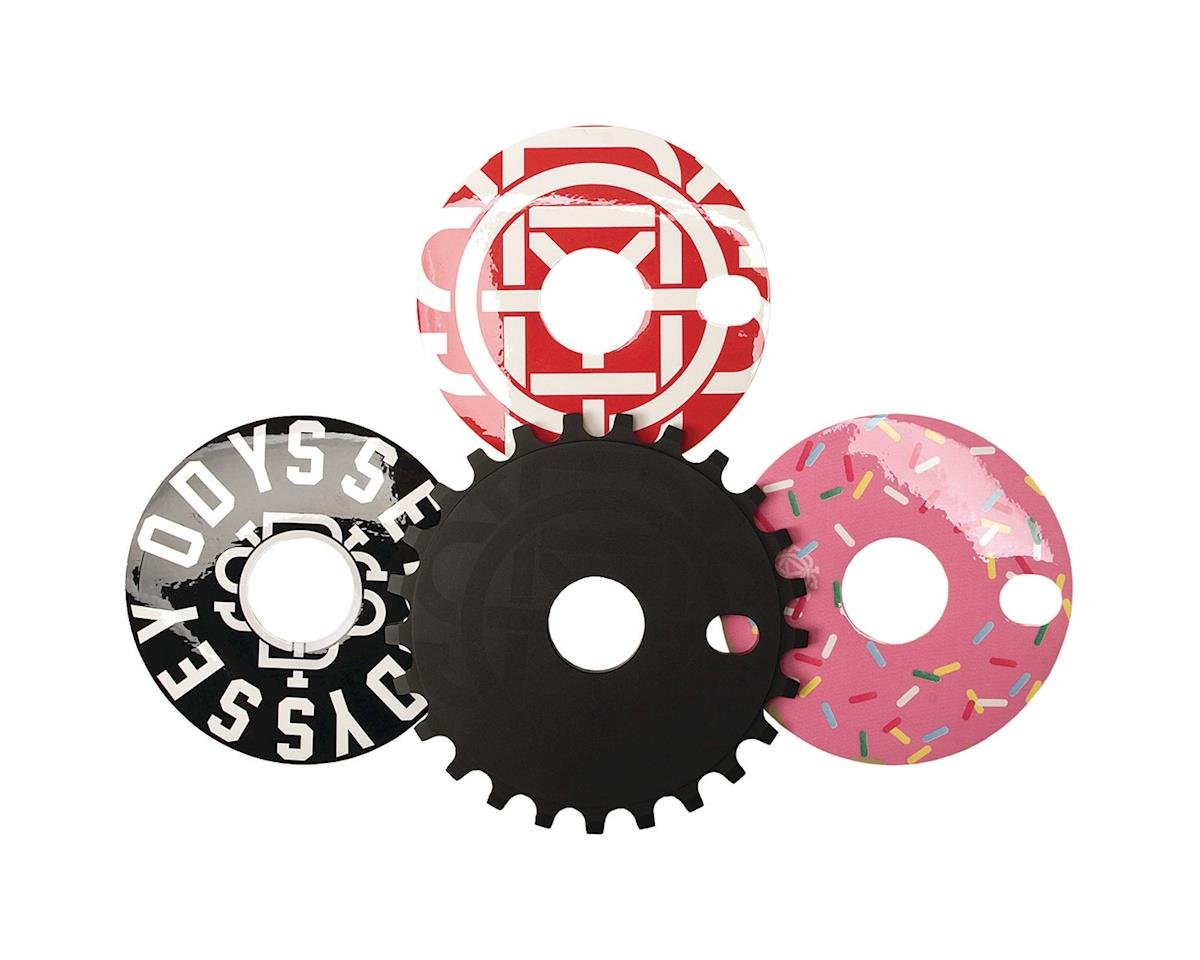 Odyssey Discogram Sprocket (Black w/ Decals)