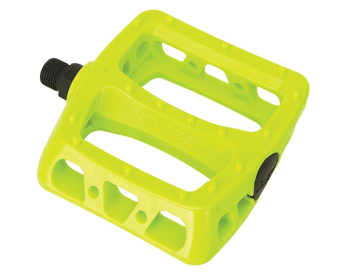 "Odyssey Twisted PC Pedals (Fluorescent Yellow) (1/2"") 