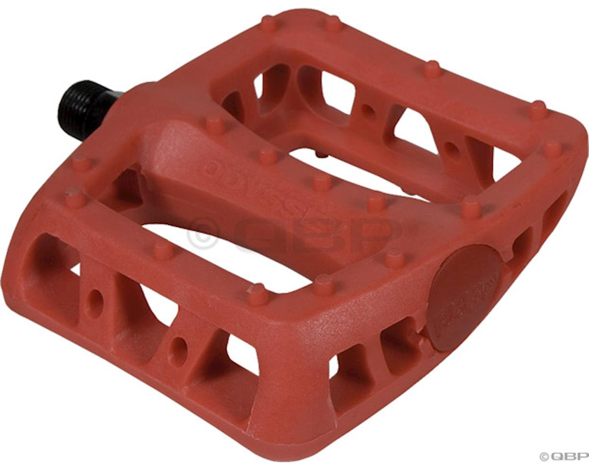 "Odyssey Twisted PC Pedals (Red) (1/2"")"