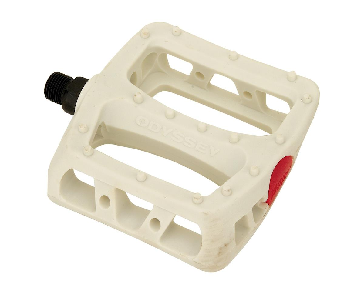 "Odyssey Twisted PC 1/2"" Pedals (White)"