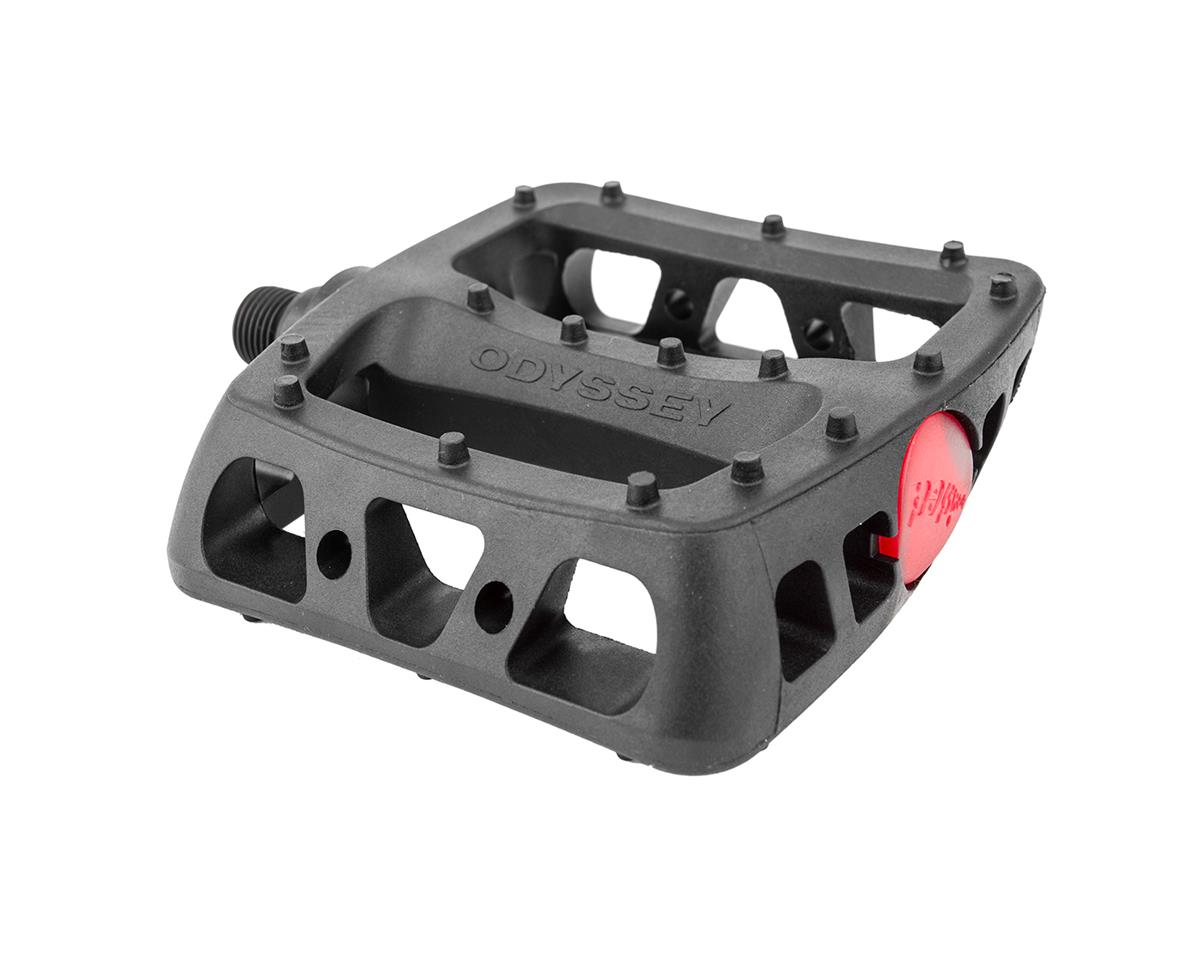 "Odyssey Twisted PC Pedals (Black) (9/16"")"