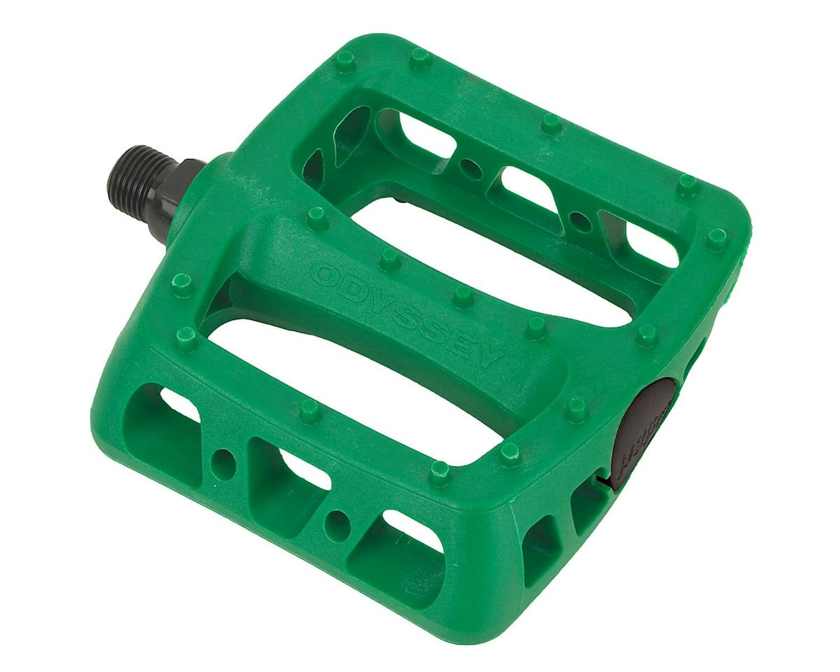 "Odyssey Twisted PC Pedals (Matte Kelly Green) (9/16"")"