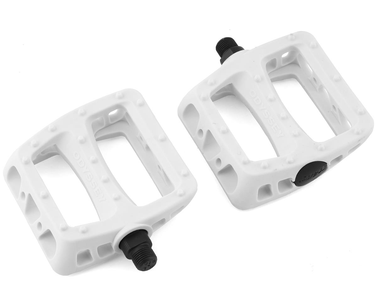 "Odyssey Twisted PC 9/16"" Pedals (White)"
