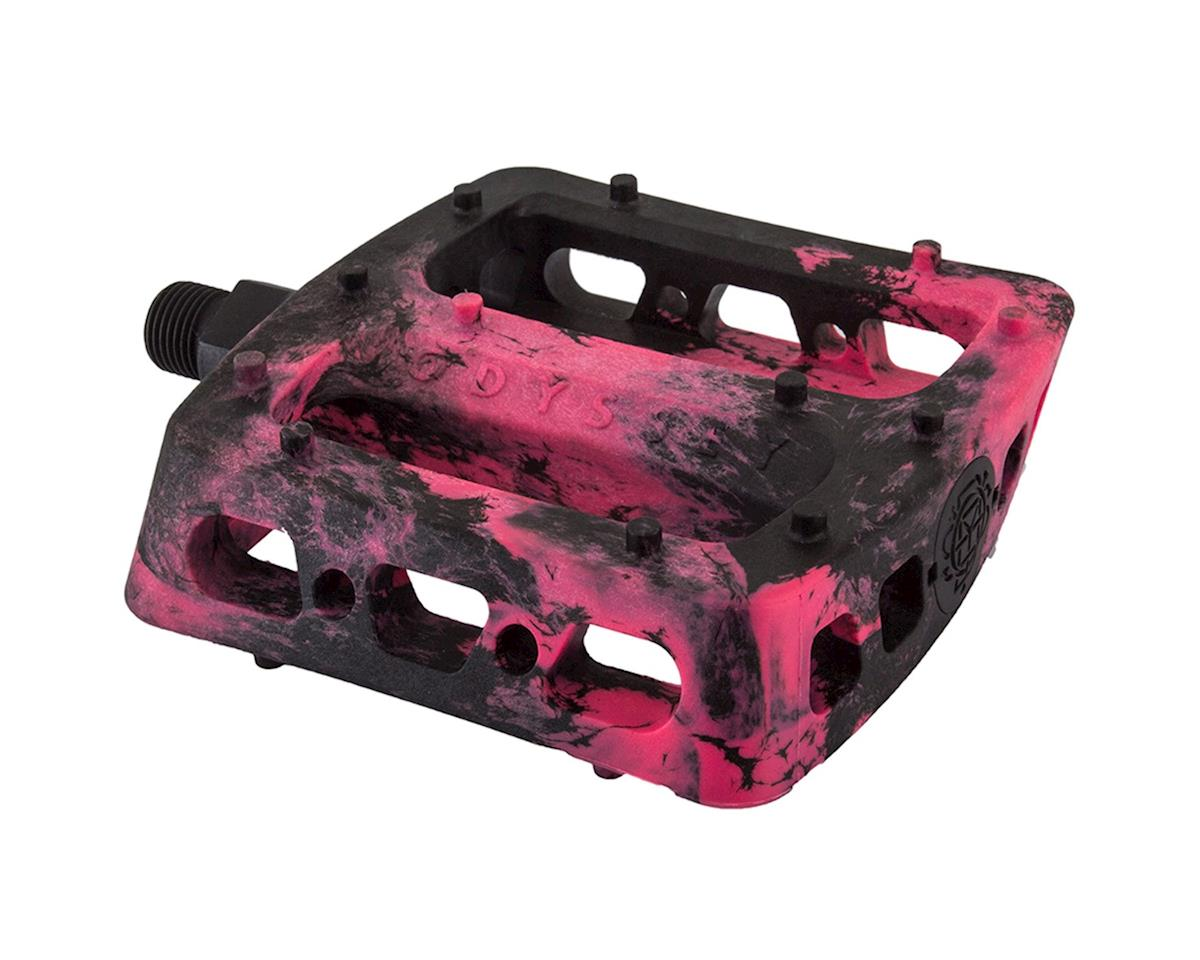 "Odyssey Twisted PC Pro 9/16"" Pedals (Black/Pink)"