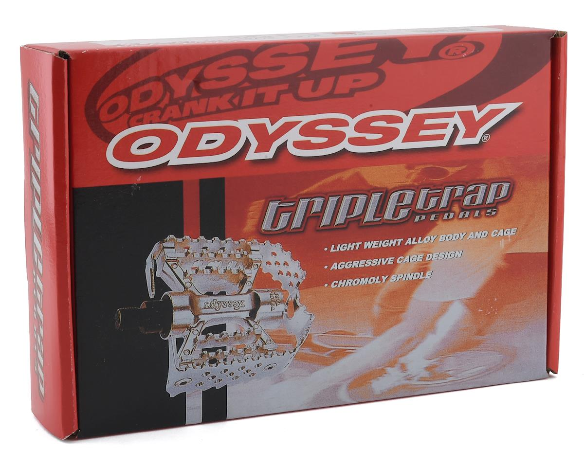 """Image 3 for Odyssey Triple Trap Pedals (Silver) (9/16"""")"""